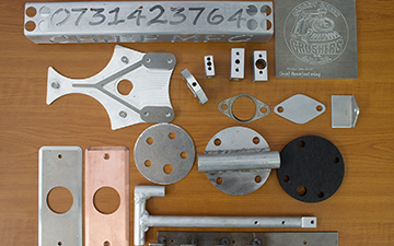 high quality aluminum components
